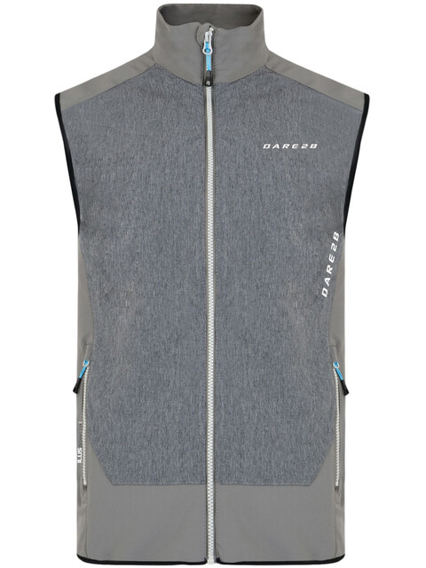 Dare 2b Appertain Vest Men Smokey Grey/Charcoal Grey Marl